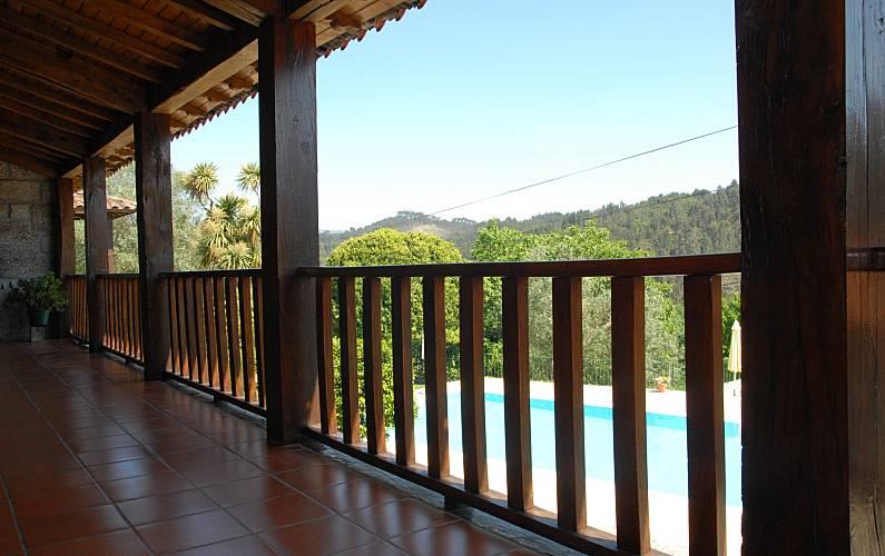 t Terraço Braga Vieira do Minho Casa rural - Terraço
