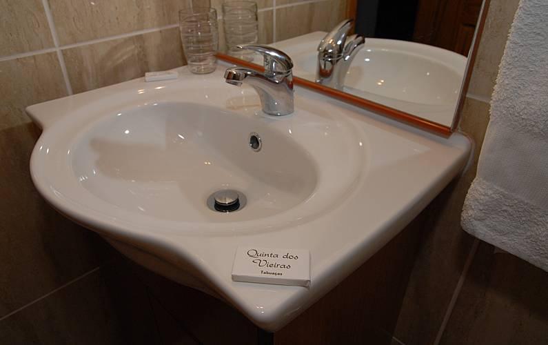 t Casa-de-banho Braga Vieira do Minho Casa rural - Casa-de-banho