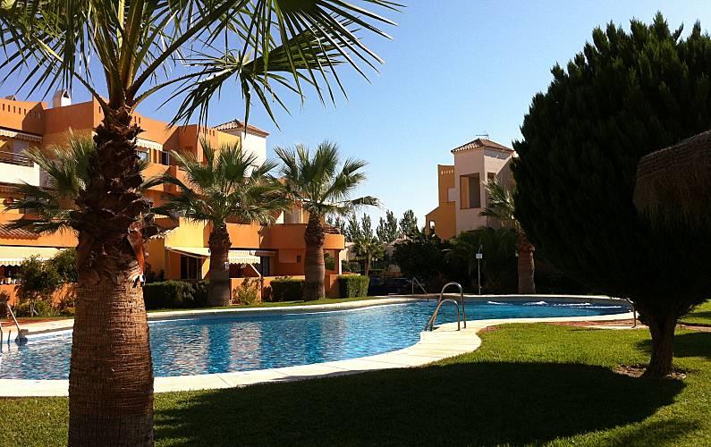 Apartamento naturista - FKK en playa de Vera Almería - Baño