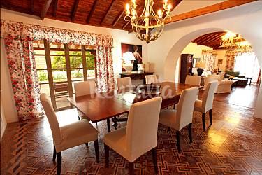 Holiday Dining-room Gran Canaria Agaete Countryside villa