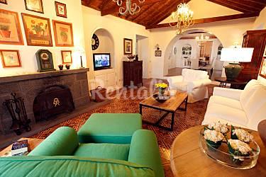 Holiday Living-room Gran Canaria Agaete Countryside villa