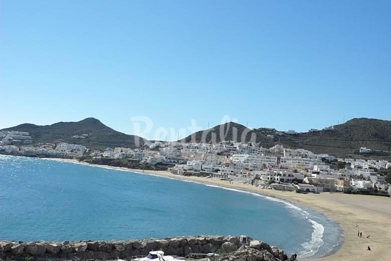 Apartamento de 2 habitaciones a 100 m de la playa san jose n jar almer a costa de almer a - Casas en san jose almeria ...