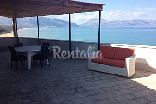 Apartment with sea view terrace Palermo