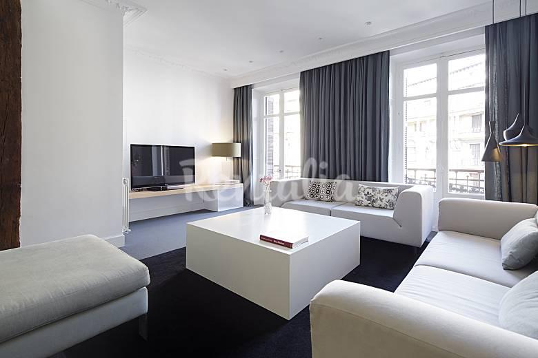 6 apartamentos easo reyes lujo en el centro donostia - Casas de lujo en san sebastian ...