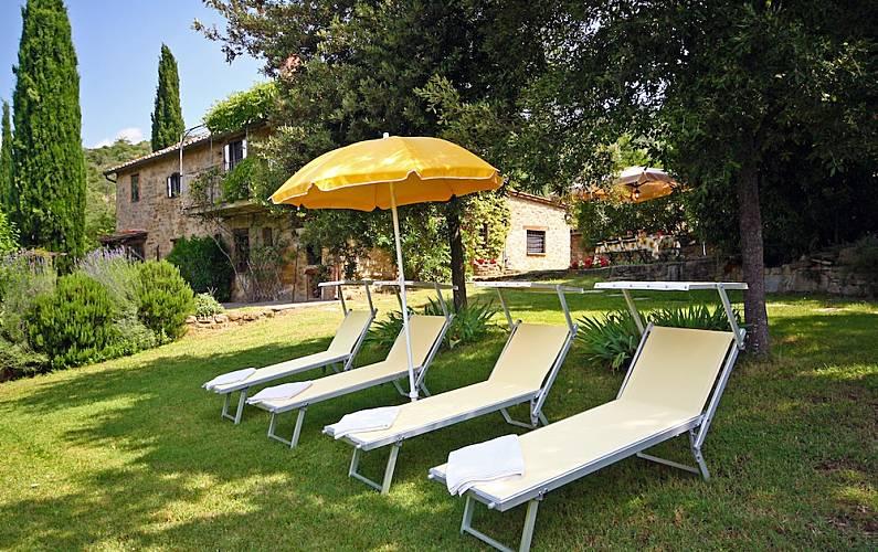 I Giardino Arezzo Cortona Casa di campagna - Giardino
