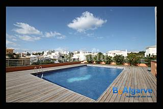 Great apartment with pool and big terrace Algarve-Faro