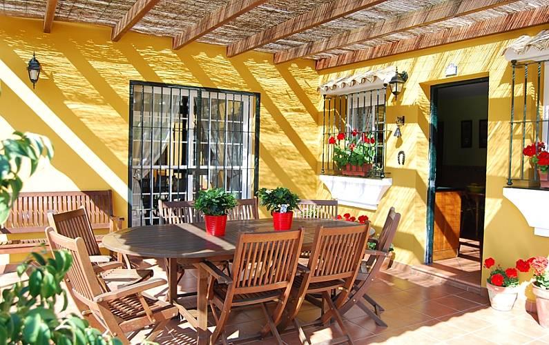 Supersol Muebles De Jardin.Villa Climatizada Cerca De Playa La Barrosa Chiclana De La