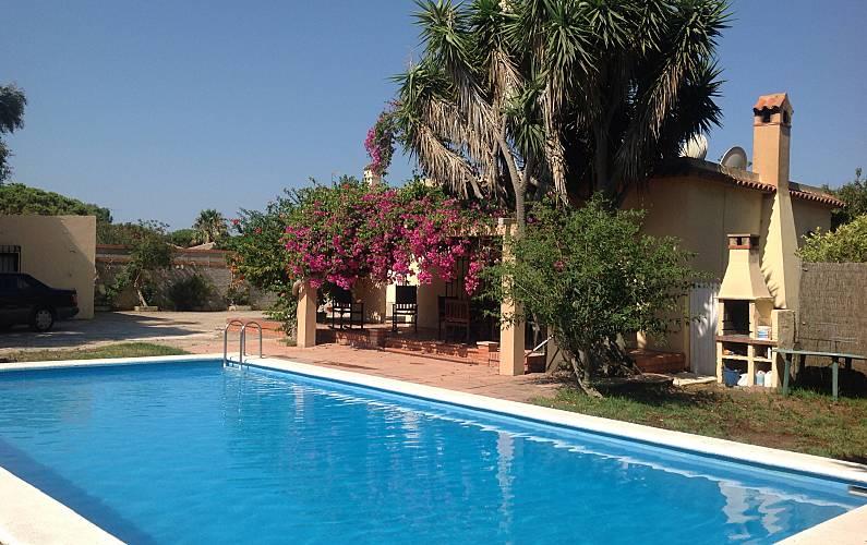 Haus Zur Vermietung Mit Pool Zahora Barbate Cádiz Costa De La Luz