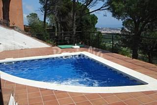 Villa Nova View: piscina, jacuzzi, vistas mágicas Girona/Gerona