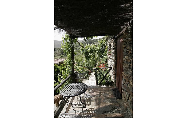 Aptos. Terraza Cáceres Robledillo de Gata Casa en entorno rural - Terraza