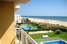 Apartamento en 1ª línea de playa para 6 personas Valencia