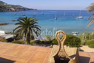 Apartment for rent on the beach front line Ibiza