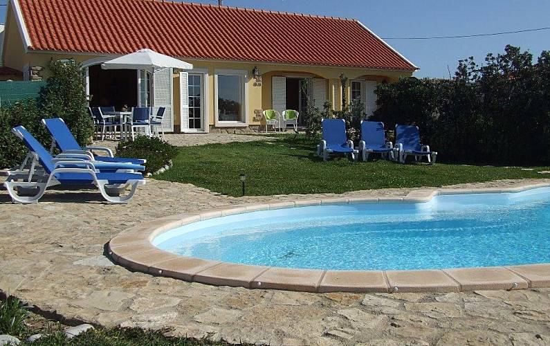 Casa de Férias com piscina a 500 metros da praia Lisboa - Piscina