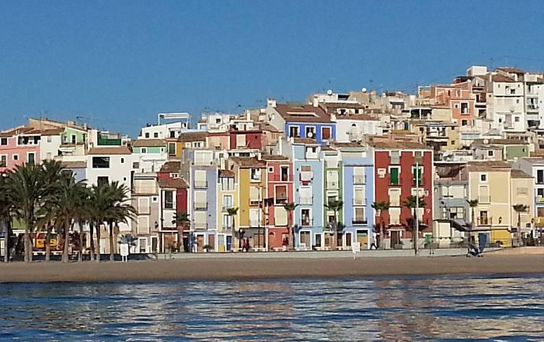 Apartamento com 2 quartos em frente à praia Alicante - Vistas da casa