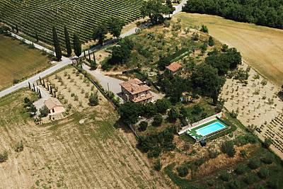 Villa en alquiler en Toscana Siena