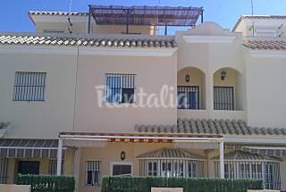Casa de 3 habitaciones a 100 m de la playa Cádiz