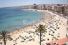 Apartamento para 3-5 personas a 50 m de la playa Alicante