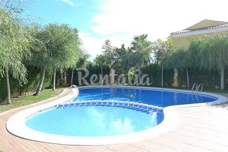 Duplex en playa del moro con piscina de comunidad alcossebre alcal de xivert castell n - Hoteles en castellon con piscina ...