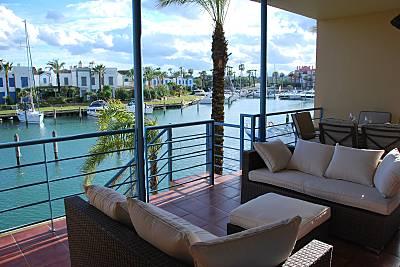 Apartamento con piscina a 400m de la playa y golf  Cádiz