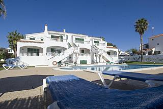 Apartment for 4-7 people only 1000 meters from the beach Minorca