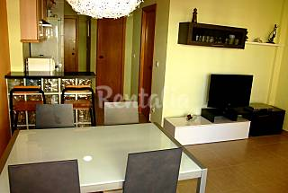 Apartment for 2-3 people on the beach front line Barcelona