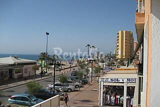 Apartment for rent on the beach front line Málaga