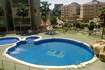 Apartamento de 2 habitaciones a 250 m de la playa Murcia