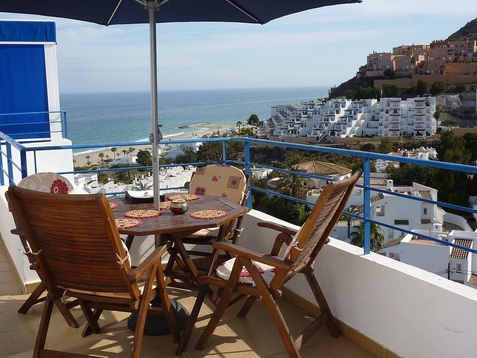 Apartamento en alquiler a 500 m de la playa ventanicas el cantal moj car almer a costa de - Apartamentos alquiler mojacar ...