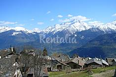 Traditional mountain chalet, Italian Alps Aosta