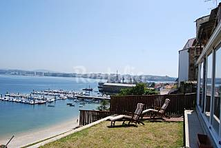 House with 5 bedrooms on the beach front line A Coruña