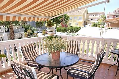 Casa con WIFI en alquiler a 100 m de la playa Valencia