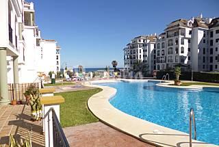 Apartamento 4 o 6pers en primera linea del mar Málaga