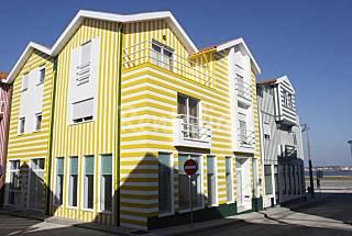 Alojamento na praia da Costa Nova Aveiro