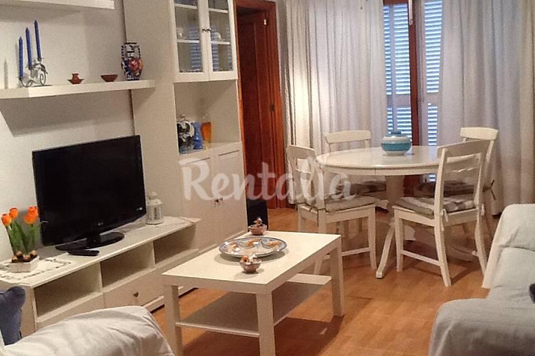 Apartamento de 3 habitaciones a 50 m de la playa platja - Decorar apartamento playa ...