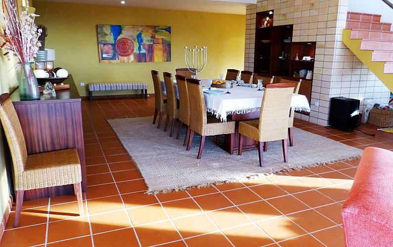 Vista Sala de Jantar Setúbal Sesimbra vivenda - Sala de Jantar