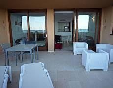 Apartment on the beach in Playa d´en Bossa. A2 Ibiza