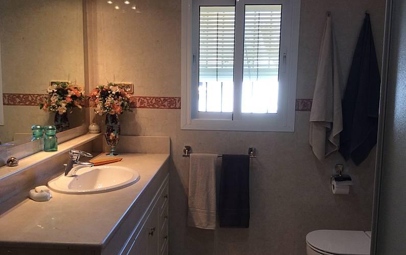 Magnificent Bathroom Málaga Torremolinos villa - Bathroom