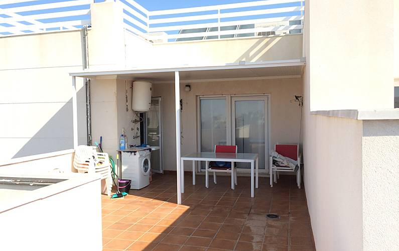 Appartement te huur op 1000 meter van het strand retamar almer a almer a costa de almer a for Terras strijkijzer