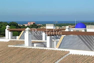 Relaxe, Vistas da casa Huelva Isla Cristina Apartamento
