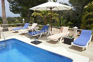 Luxury villa only 300 meters from the beach Ibiza