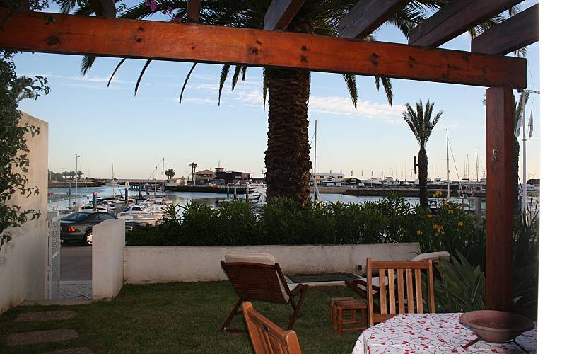 Apartment for rent only 800 meters from the beach Algarve-Faro - Terrace