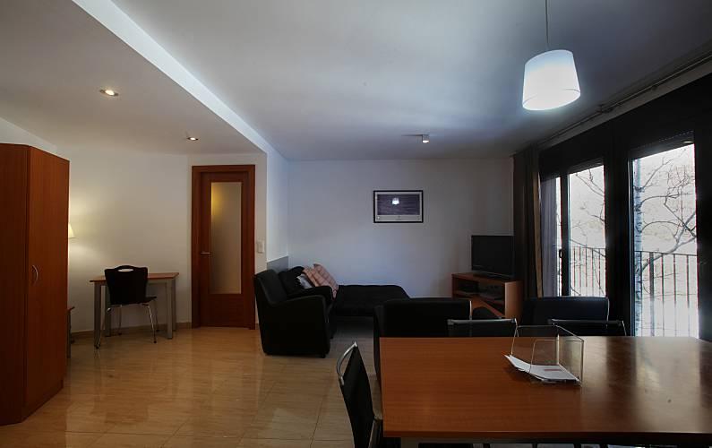 7 Living-room Ordino Apartment - Living-room