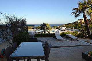 Apartment for 4 people on the beach front line Ibiza