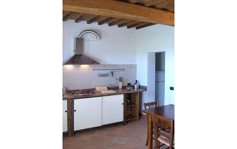 Casale Cocina Siena Casole d'Elsa Apartamento - Cocina