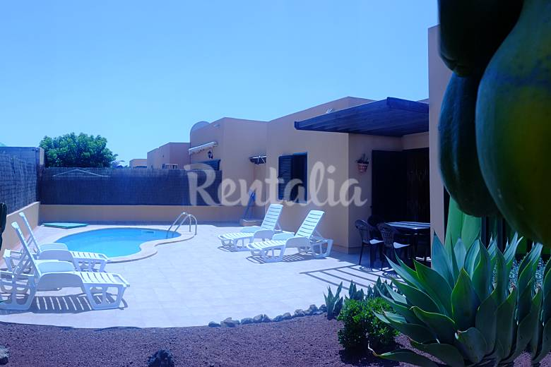 Villa for 4-6 people 3 km from the beach Fuerteventura