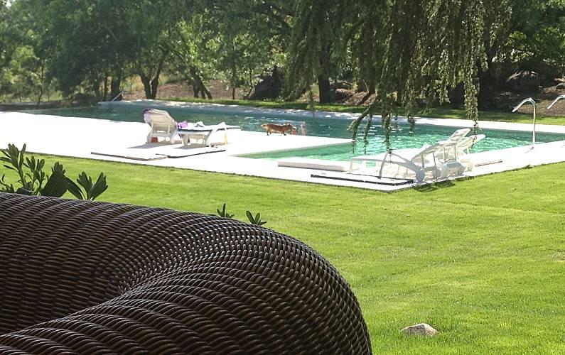 Villa para 10 personas en Manzanares el Real Madrid - Piscina