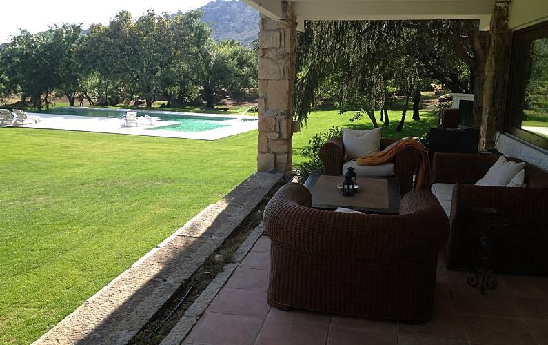 Villa Exterior del aloj. Madrid Manzanares el Real Villa en entorno rural - Exterior del aloj.