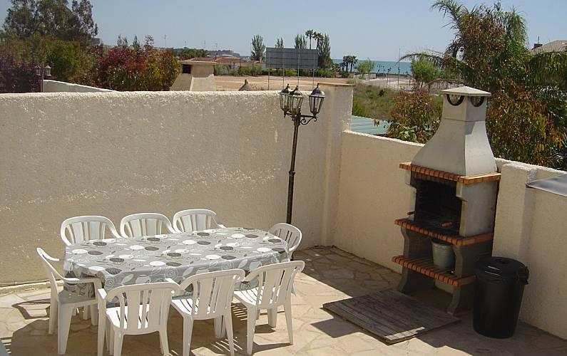 Villa Terraza Tarragona L' Ampolla villa - Terraza