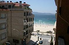 Apartment for 6 people on the beach front line Pontevedra