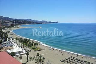 Apartamento 1ra linea de Playa Malagueta Málaga